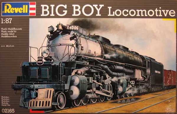 Revell Steam Engine Big Boy Locomotive , 02165