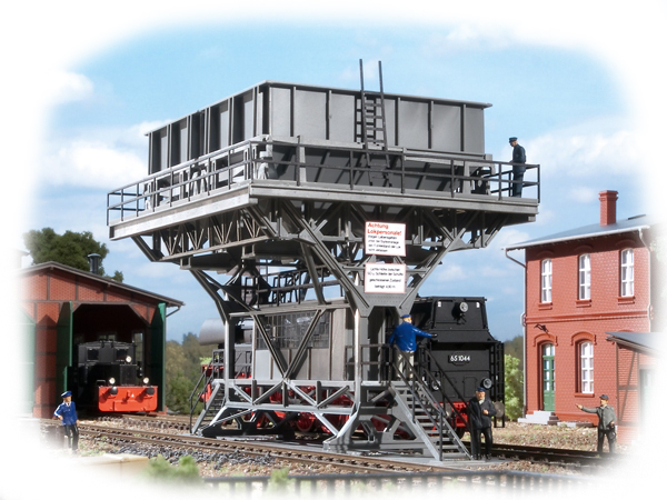 Auhagen Large coaling station 11416