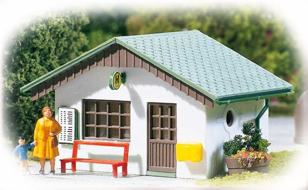 Auhagen 2 bus shelters 12262