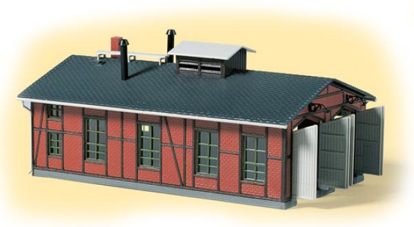 Auhagen Locomotive shed double track 13233