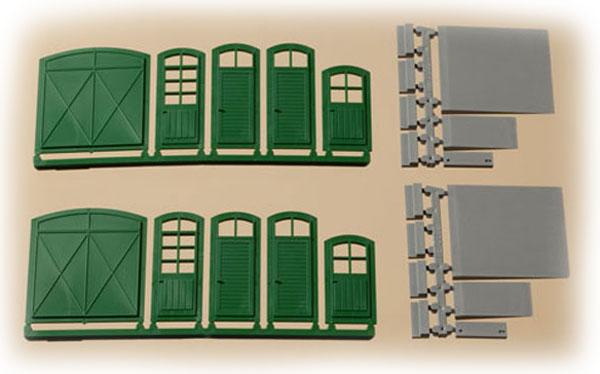 Auhagen Gates and doors , 80250