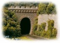 Auhagen 2 tunnel portals single track  11342