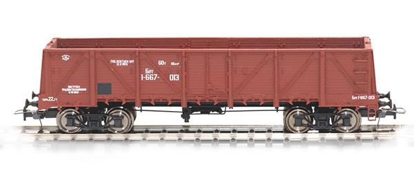 Bergs Open goods car, Typ 12-P153 Nr 1-667-013 , 0038