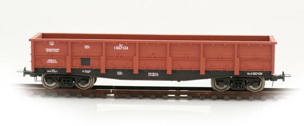 Bergs Open goods car, 57 tonn Nr 1-667-124 , 0091