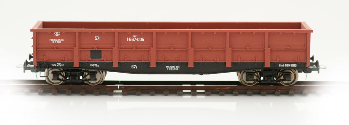Bergs Open goods car, 57 tonn Nr 1-667-005 , 0092