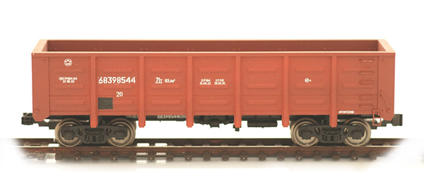 Bergs Open goods car, Typ 12-1592 Nr 68398544 , 0115