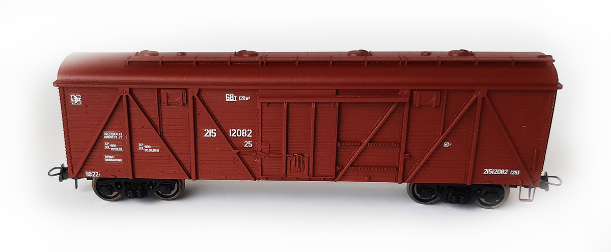 Bergs Box car , Typ 11-066 Nr 270-4842 , 01211