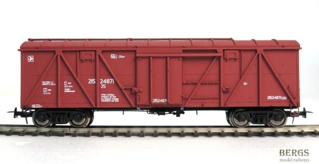 Bergs Box car , Typ 11-066 Nr 21524871 , 01217