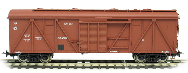 Bergs Box car , Typ 11-066 Nr 255-2916 , 01218