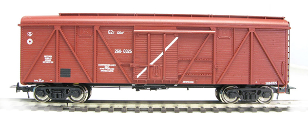 Bergs Box car , Typ 11-066 Nr 268-0325 , 0127