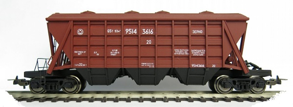 Bergs Cement hopper car Typ 11-739 , 0222
