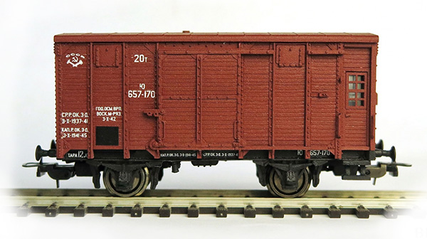 Bergs Box car 'canadian type' , 0282