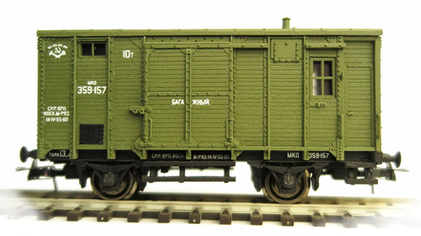 Bergs Box car 'canadian type' , 0283