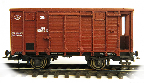 Bergs Box car 'canadian type' , 0284