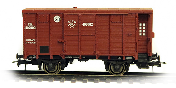 Bergs Box car 'canadian type' , 0285