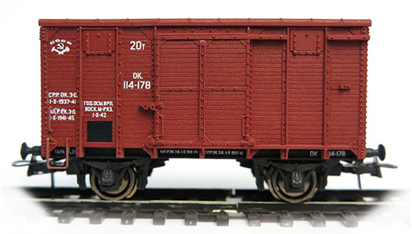 Bergs Box car 'canadian type' , 0286