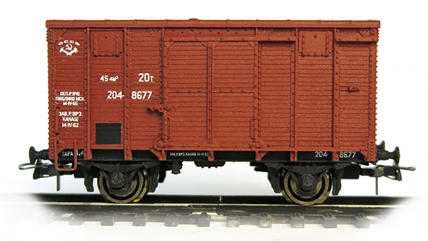 Bergs Box car 'canadian type' , 0287