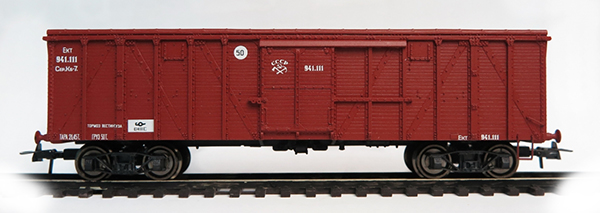 Bergs Box car, prod. 1926  Nr 941.111 , 0291