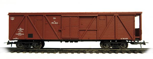 Bergs Box car, Typ 11-38 Nr 1035 , 0303