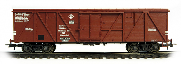 Bergs Box car, Typ 11-38 Nr 1035 , 0304