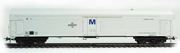 Bergs Refrigerated car TsMV ARV 25 t , 0312