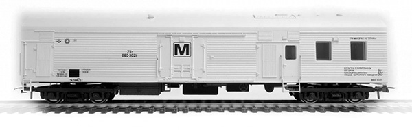 Bergs Refrigerated car TsMV ARV MK-4-B  , 0341