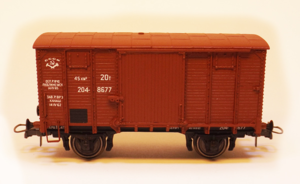 Rongimudelid Box car 'NTV' , 18002