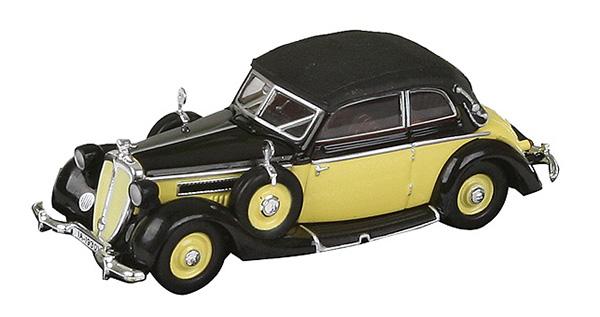 Busch RICKO: Horch 930V Cabriolet yellow 98-38880