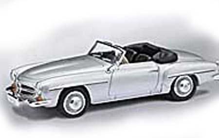 Busch RICKO: Mercedes 190 SL red 98-38893