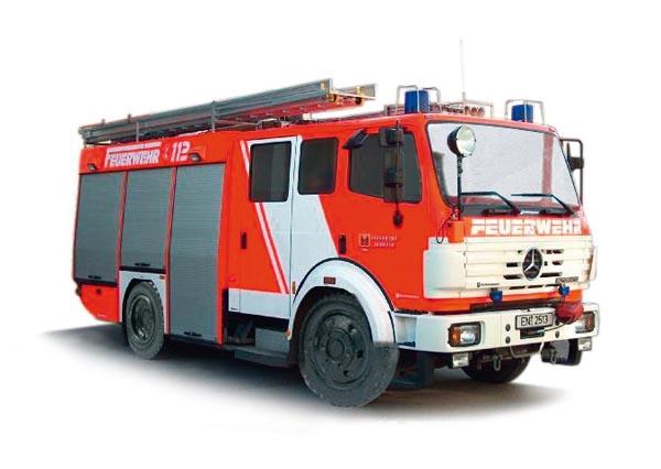 Busch MB MK94 1424 FW Schwelm, fire guard , 43801