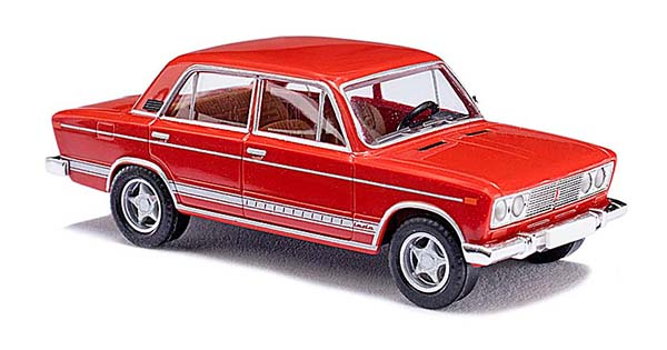 Busch Lada 2106 Limousine red 'CMD-Collection' 50559