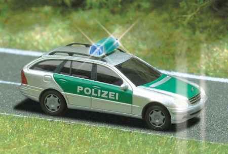 Busch Police Vehicles w/Flashing Blue Lights 5625