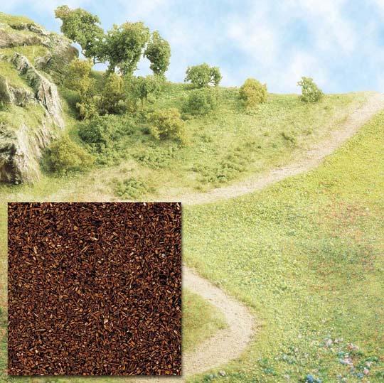 Busch Scatter material - brown 7056
