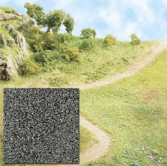 Busch Scatter material - gray 7057
