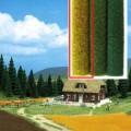 Busch Grass mat Wheatfield 7214