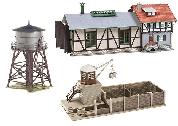 Faller Locomotive shed set 190172