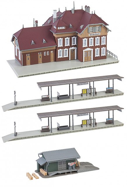 Faller Weidenbach Station set 190288