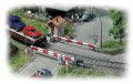 Faller Guarded level crossing 120172