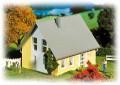 Faller Detached house, yellow 130317