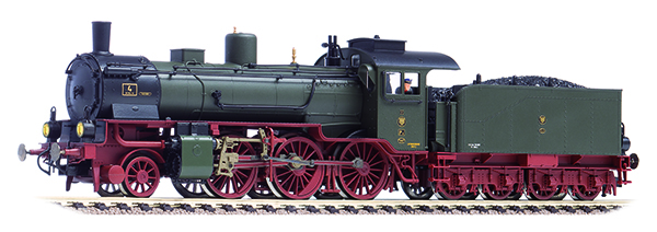 Fleischmann Dampflokomotive Gattung P 6  K.P.E.V. , 413701