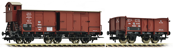 Fleischmann Cargo car set 2 pcs K.P.E.V. , 538003
