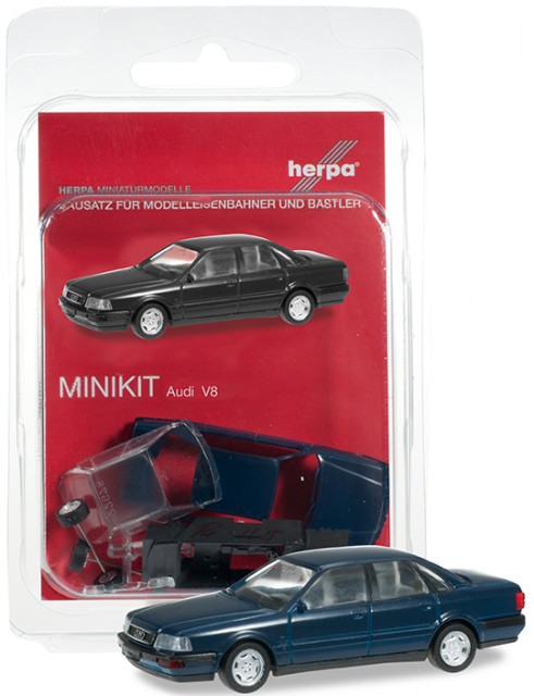 Herpa Audi V8 darkblue ,  012775