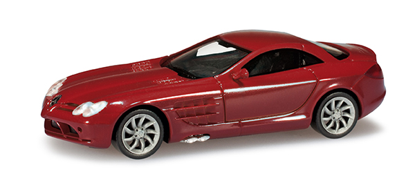 Herpa Mercedes Benz SLR MC Laren red ,  023207-002