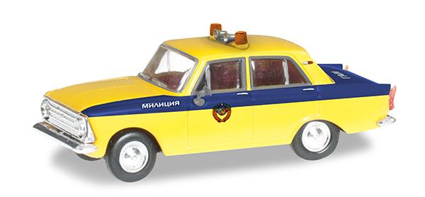 Herpa Moskwitsch 408 Police USSR , 091725