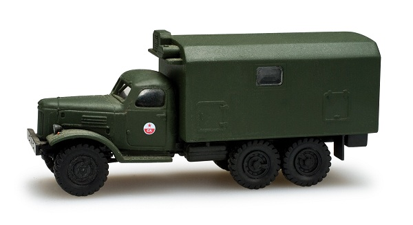 Herpa ZIL 157 truck with box military  , 743822