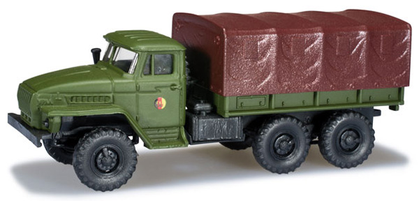 Herpa Ural NVA pick up , 744119