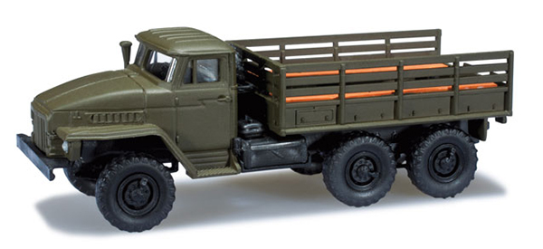 Herpa Ural 4320 pick up , 744294