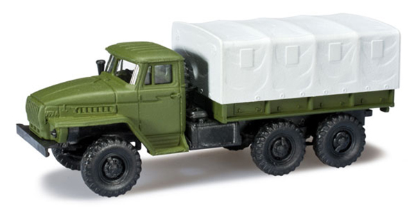 Herpa Ural 4320 pick up , 744461