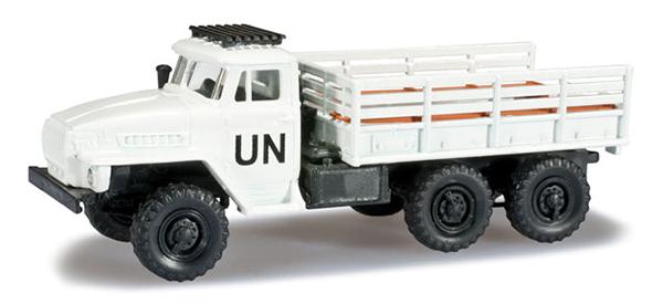Herpa Урал 4320 грузовик бортовой ООН, 744539