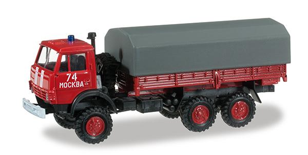 Herpa Kamaz 5320 Fireguard ,  745048